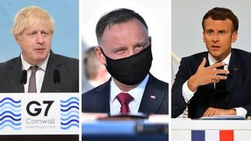 Szczyt NATO. Duda spotka się z Macronem i Johnsonem