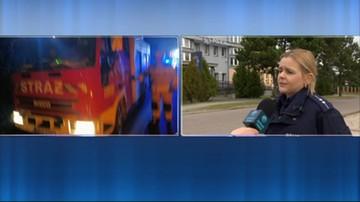 Romanowo: auto uderzyło w drzewo i spłonęło. Zginęły cztery młode osoby