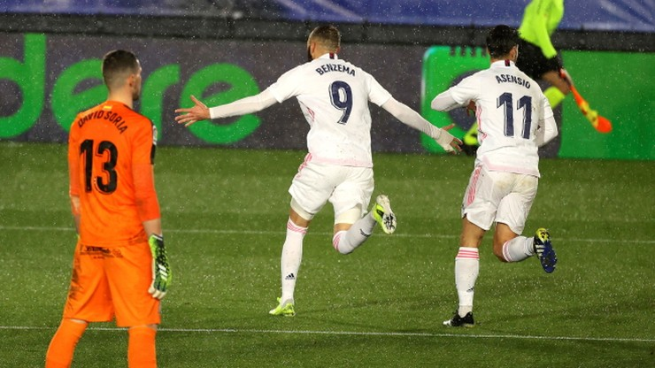 Real Madryt awansował na drugie miejsce w tabeli ligi hiszpańskiej