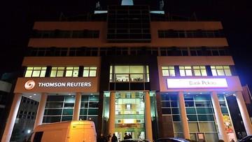 Zarzut dla 30-letniego Białorusina w związku ze strzałami w siedzibie Thomson Reuters w Gdyni