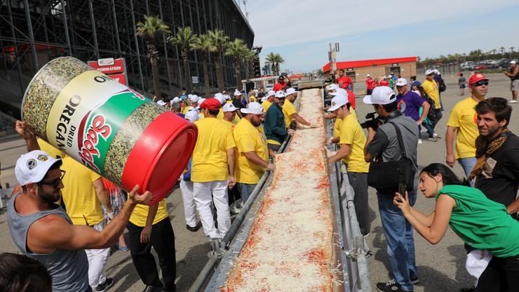 Próba pobicia rekordu najdłuższej pizzy świata