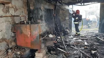 Spłonął warsztat stolarski. Ogień strawił zabytkowe meble