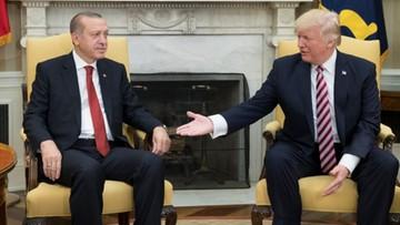 """Prezydent Turcji chce """"nowego początku"""" w relacjach z USA"""