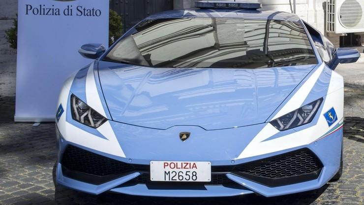 Włoska drogówka ma nowy radiowóz. To Lamborghini Huracan