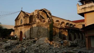 Trzęsienie ziemi na Filipinach. Co najmniej 11 osób zginęło, a 20 zostało rannych