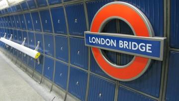 Ewakuacja stacji kolejowej London Bridge