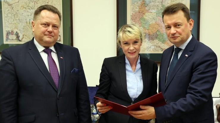 Wybrano nowego wiceministra MSWiA. Została nim Renata Szczęch
