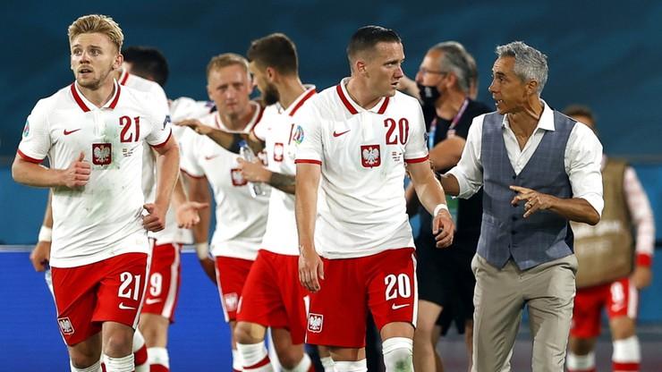 Polska - Hiszpania. Paulo Sousa: Jestem dumny, piłkarze pokazali charakter