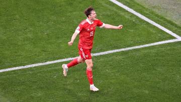 Euro 2020: Finlandia – Rosja 0:1. Gol Aleksieja Miranczuka