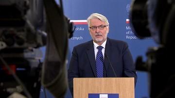 """""""Nie zamawiano ekspertyz ws. fałszerstwa przy wyborze Tuska"""". MSZ odpowiada posłowi PO"""