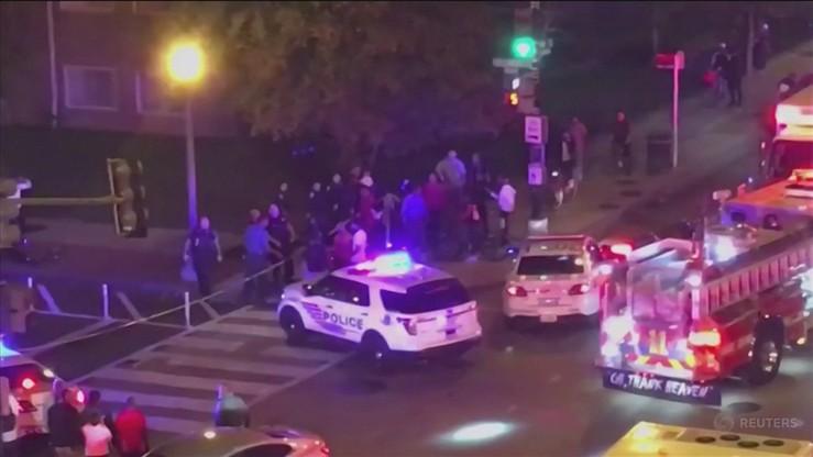 Jedna osoba zginęła, 5 rannych w strzelaninie w Waszyngtonie