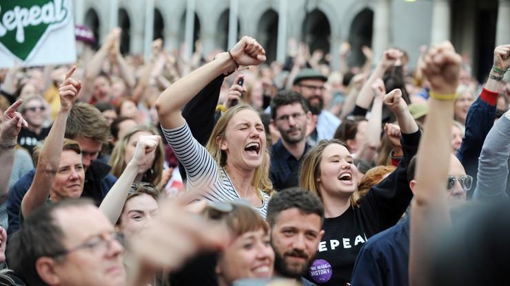 Irlandczycy za liberalizacją przepisów aborcyjnych. Oficjalne wyniki referendum