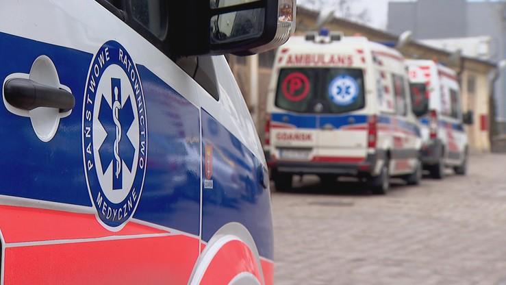 Wybuch gazu w mieszkaniu w Małoszycach koło Lęborka
