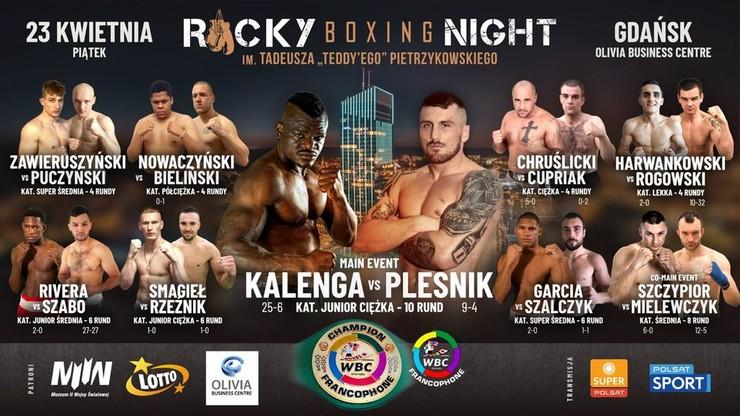 Rocky Boxing Night 8: Ceremonia ważenia. Transmisja w Polsacie Sport Fight i na Polsatsport.pl