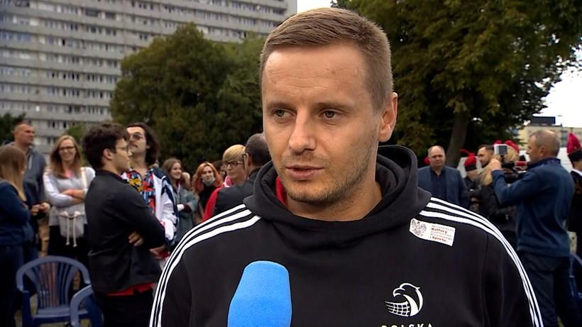 Damian Wojtaszek na Alei Gwiazd Siatkówki: Byłem zaskoczony, że mogliśmy się tu pojawić