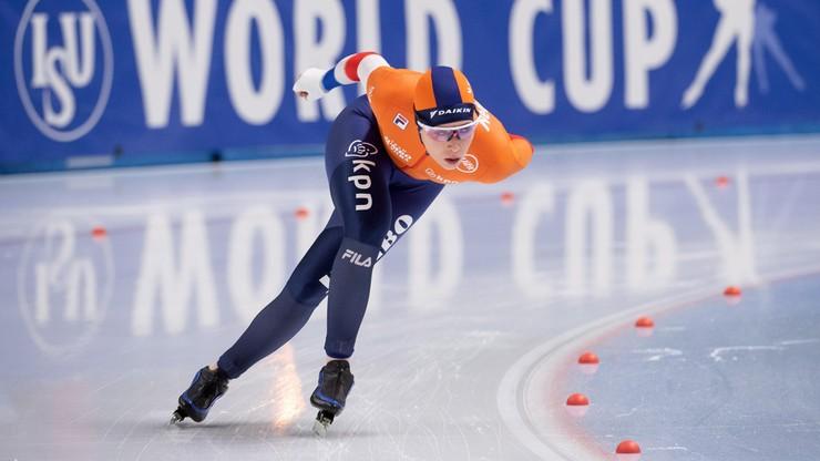 MŚ w łyżwiarstwie szybkim: Antoinette de Jong i Nils van der Poel złotymi medalistami