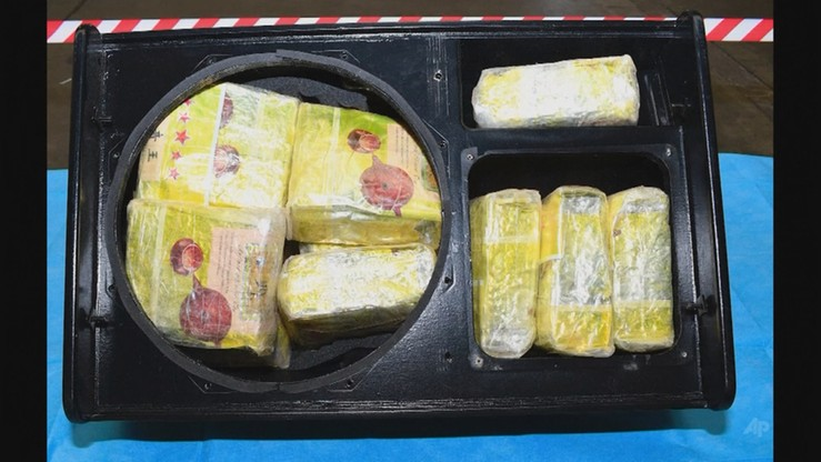 Australia: w transporcie głośników z Tajlandii znaleziono rekordową ilość narkotyków