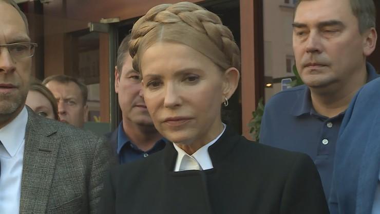 """Julia Tymoszenko """"w ciężkim stanie"""". Jest zakażona"""