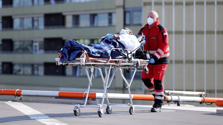 Zmniejsza się dobowa liczba ofiar koronawirusa w Niemczech