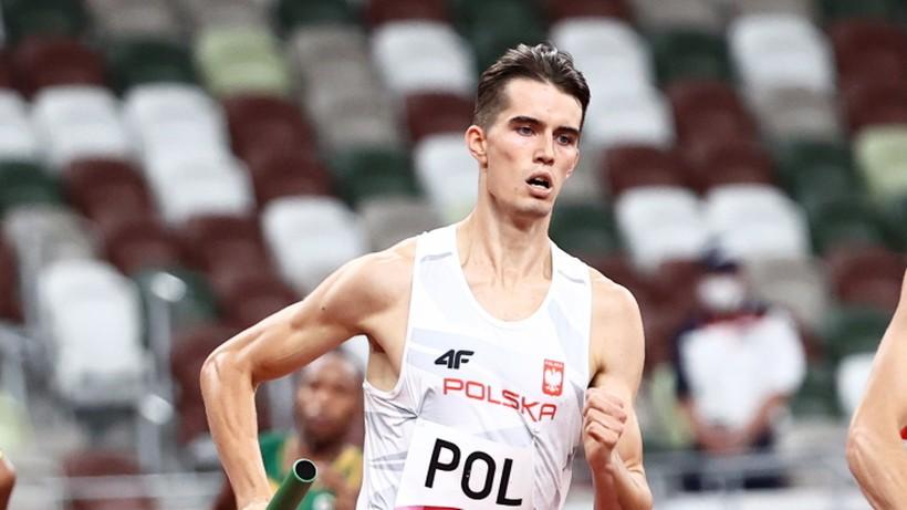 Tokio 2020: Polska sztafeta mężczyzn 4x400 m bez medalu