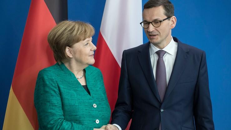 Dworczyk: widać pewną chemię między premierem Morawieckim a kanclerz Merkel