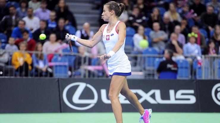Fed Cup: Polki wygrały w pierwszym pojedynku grupowym z Austriaczkami
