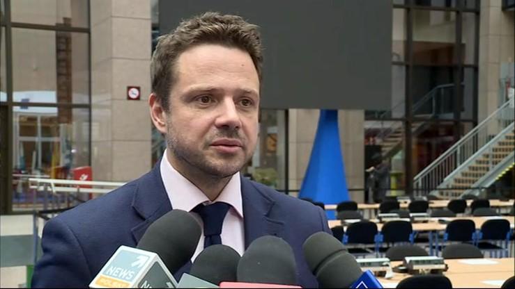 Trzaskowski: większość grup w PE chce rezolucji ws. Polski