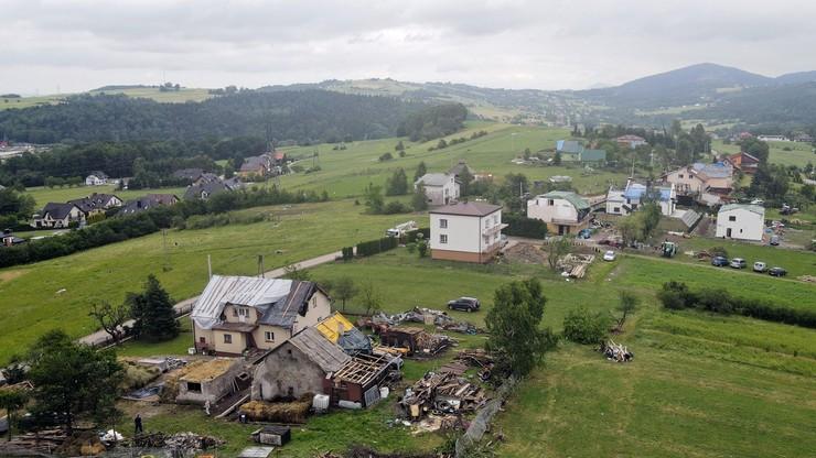 Małopolska. Do 6 tys. zł dla poszkodowanych po przejściu wichury. Trwa szacowanie strat w uprawach