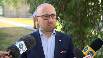 Łapiński: zakończenie sporu Polski z Komisją Europejską blokują ambicje Timmermansa