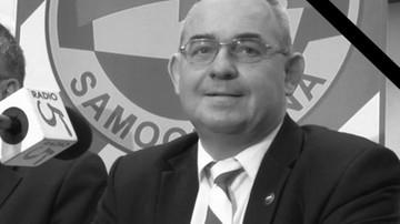 Nie żyje kandydat Samoobrony na senatora