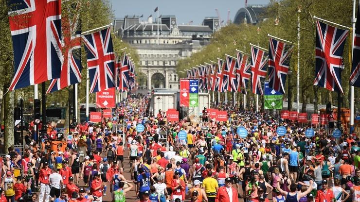 Maraton w Londynie: Drugi w historii czas Kenijczyka Kipchoge