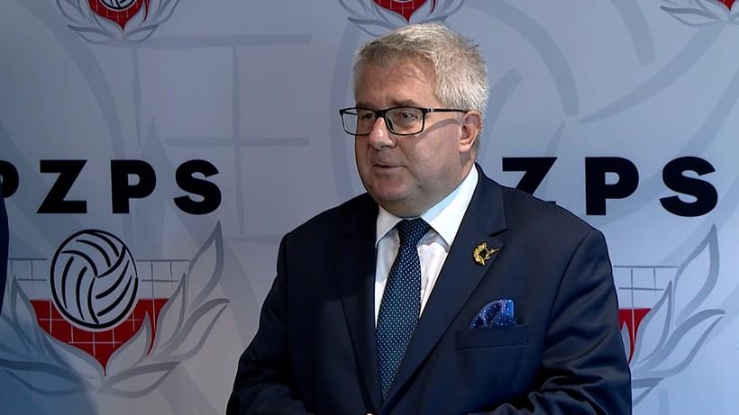 Czarnecki: Dla dobra polskiej siatkówki rezygnuję z kandydowania