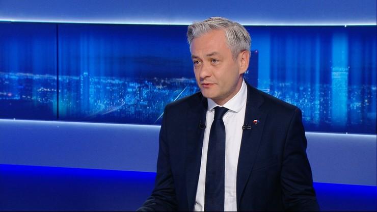 Biedroń: Kaczyński i Duda nie potrafiliby zbudować warzywniaka