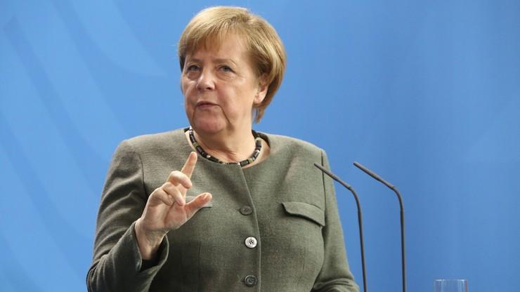 """Merkel apeluje o """"zerową tolerancję"""" wobec antysemityzmu"""
