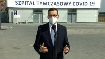 Premier: po trzeciej fali szpitale tymczasowe będą zamieniane na szpitale rehabilitacji pocovidowej