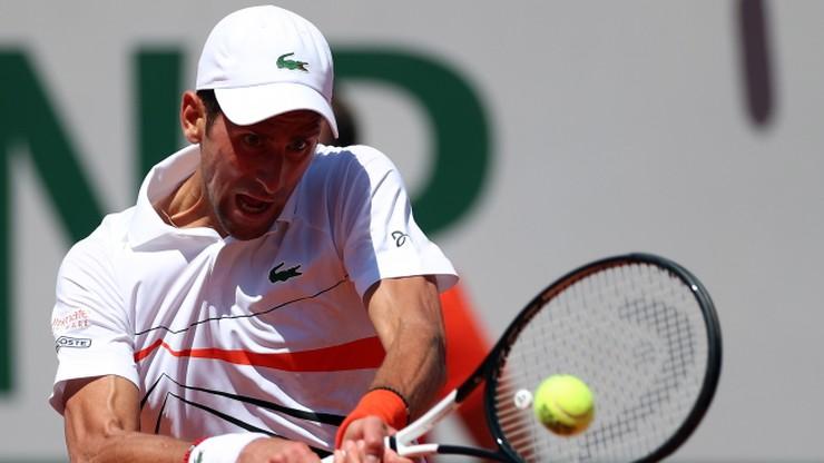 French Open: Djokovic po raz 13. w 1/8 finału paryskiej imprezy