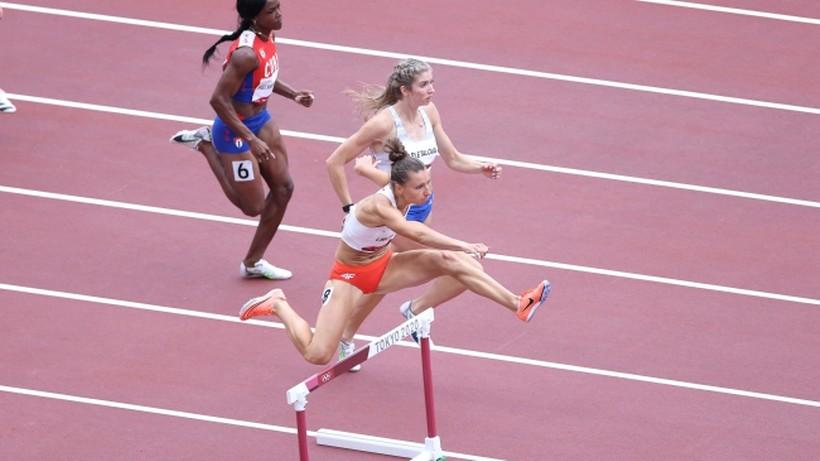Tokio 2020: Joanna Linkiewicz awansowała do półfinału biegu przez płotki