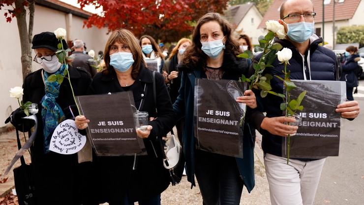 Zabójstwo nauczyciela we Francji. Uczniowie: boimy się