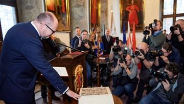 Szóste kadencje Adamowicza i Struzika. Zaprzysiężenie m.in. prezydentów, burmistrzów i wójtów
