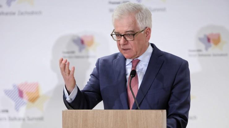 Czaputowicz: Polska chce szybkiego wstąpienia Bałkanów Zachodnich do Unii Europejskiej