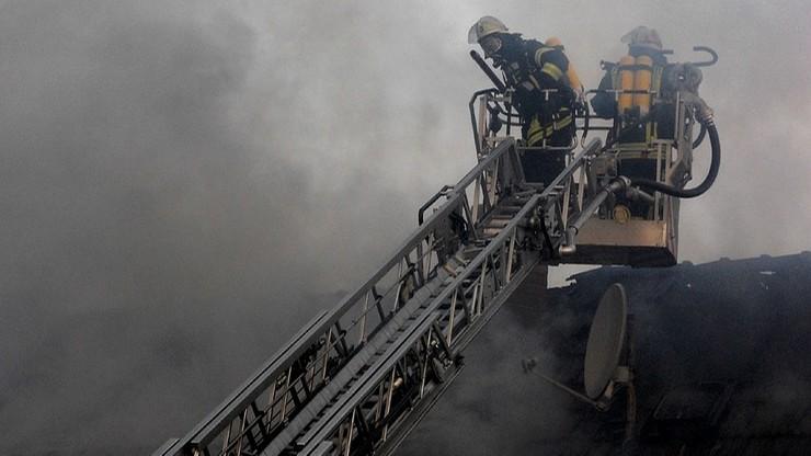 Kolejne podpalenie ośrodka mniejszości węgierskiej na Ukrainie. Pożar poprzedziła eksplozja