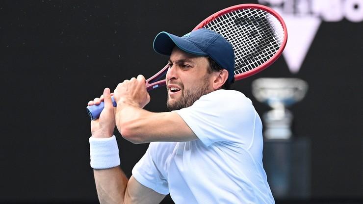 Australian Open: Asłan Karacjew pierwszym debiutantem w wielkoszlemowym półfinale