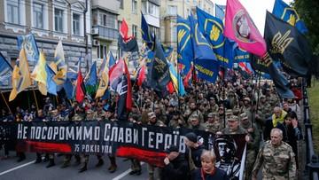 """""""Bandera i Szuchewycz naszymi bohaterami"""". Doroczny marsz UPA w Kijowie"""