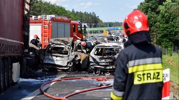 Tragedia na A6 pod Szczecinem. Zginęło 6 osób. Dwie godziny później doszło do kolejnego wypadku