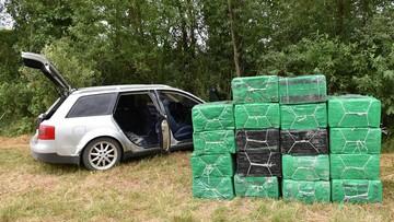 W Audi A6 zmieścił 18 tys. paczek papierosów