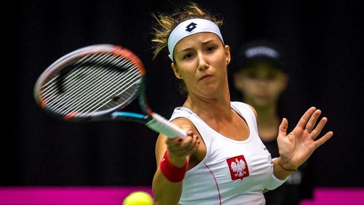 WTA w Norymberdze: Kania odpadła w pierwszej rundzie debla