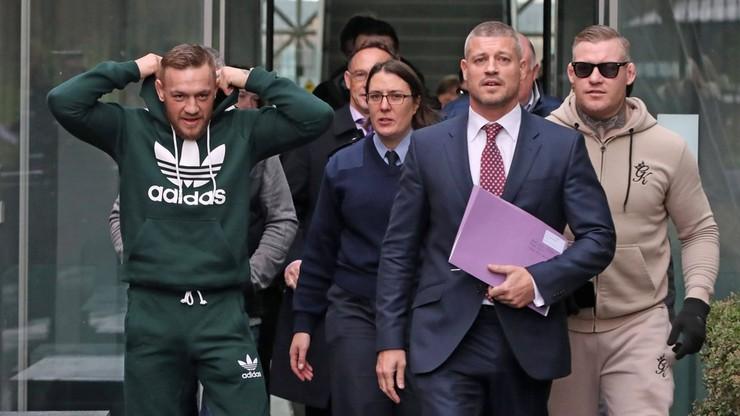 Cztery zarzuty dla McGregora