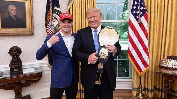 UFC w Newark: Prezydent USA zasiądzie na trybunach?