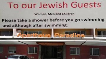 """""""Żydowscy goście proszeni są o wzięcie prysznica."""" Szwajcarski hotel przeprasza"""