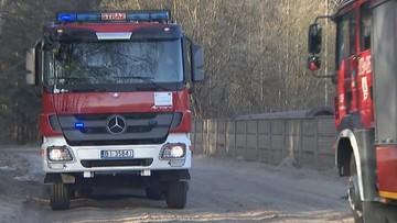 Kilkadziesiąt interwencji strażackich w związku z silnym wiatrem